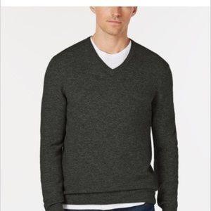 Club Room 100% Fine Cashmere Sweater Size M